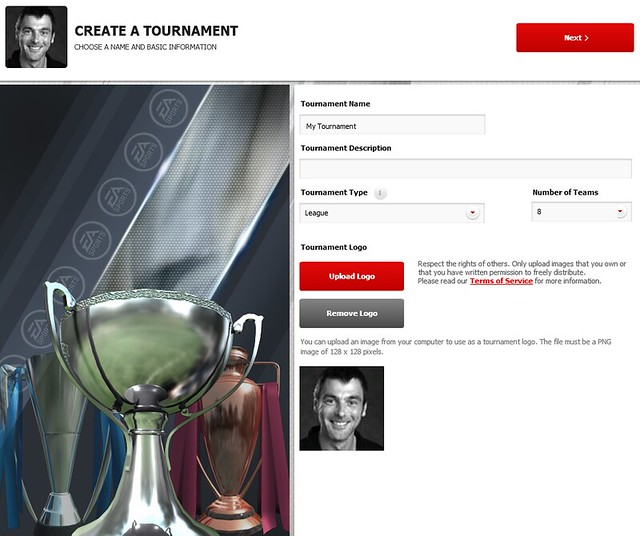 FIFA 12 Creation Centre: Create a Tournament