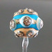 Single Bead : Ivory silver