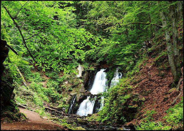 Forsakar - the lower falls