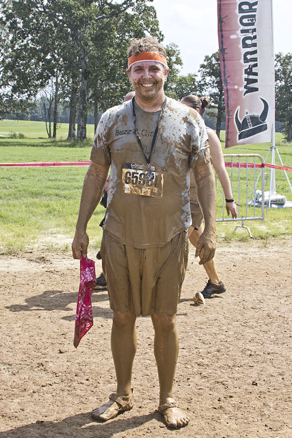 Cam survives Warrior Dash!
