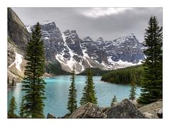 Lac_Moraine (Claude Robillard) Tags: lac banff parcnational