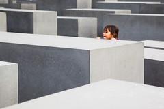 Innocence (II) (luce_eee) Tags: berlin girl memorial innocence holocaustmemorial petereisenman berlino canon24105 canon5dmarkii