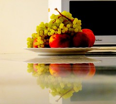 Please help yourself! (peggyhr) Tags: friends red stilllife orange white black reflection green yellow stone fruit gallery plate grapes peaches soe breathtaking wow1 wow2 wow3 wow4 finegold greatphotographers 50faves impressedbeauty peggyhr nwiran heartawards platinumheartaward arealgem spiritofphotography thedigitographer 100commentgroup photographerparadise artofimages spiegelungenreflections angelawards whitemarblecountertop tufotoesarte mygearandme mygearandmepremium mygearandmebronze mygearandmesilver poppyawards flickrshutterspace mygearandme3bronzeselection lomejordemisamigos mygearandme4silverselection ringexcellence dblringexcellence tplringexcellence blinkagainforinterestingimages thebestshots redgroupno1 artforkitchendiningroomwall yellowgroupno2 flickrstruereflection1 eltringexcellence eliteringofexcellence aghdarreh p1100110ap crmedelacrme50fav bluegroupno4 whitegroupno5 greengroupno3 friendsgroupfrontpasge