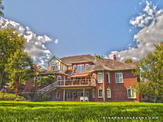 Thames River (Ontario) in HDR - House