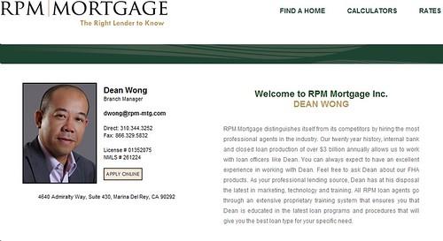 RPM Dean Wong