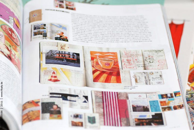 My Paris travel book in Elle Girl
