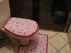 - Jogo de banheiro estampado - (vannaartes) Tags: de jogo banheiro