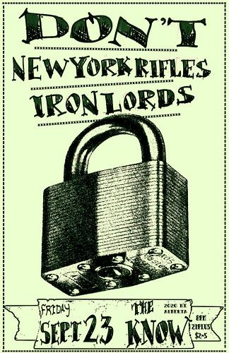 9/23/11 Dont/NewYorkRifles/IronLords