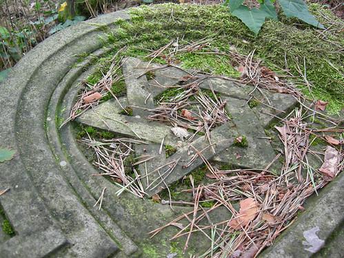 Jewish tombstone in Otwock