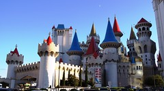 Unmistakably, the Excalibur Hotel