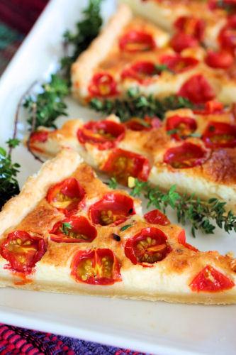 Summer tomato tart 2846 R
