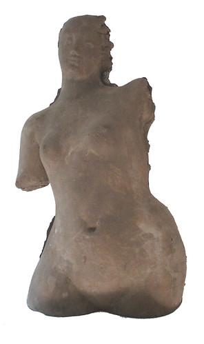 torso di bagnante cemento fuso 1988 2di2