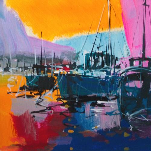 los barcos  Painting- Original