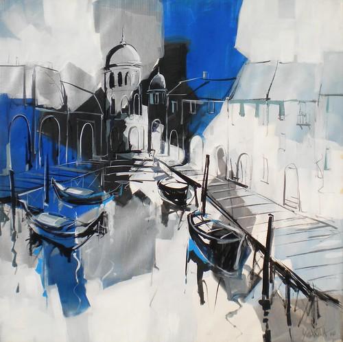 Venice Scene Original