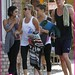 Vanessa Hudgens, Ashley Tisdale And Ryan Butler Go To The Gym