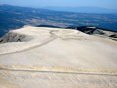 View from the summit of Mont Ventoux (Tandem Guy) Tags: france bike cycling climbing biking epic steep mythic montventoux 2011