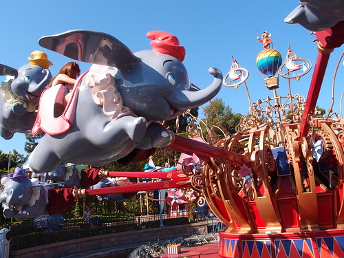 Disneyland - Dumbo the Flying Elephant
