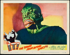 IT! THE TERROR FROM BEYOND SPACE (1958) lobby card (hollywoodgorillamen.com) Tags: fiction poster still ray space alien science lobby card horror corrigan