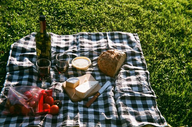 I'll always have picnic for dinner