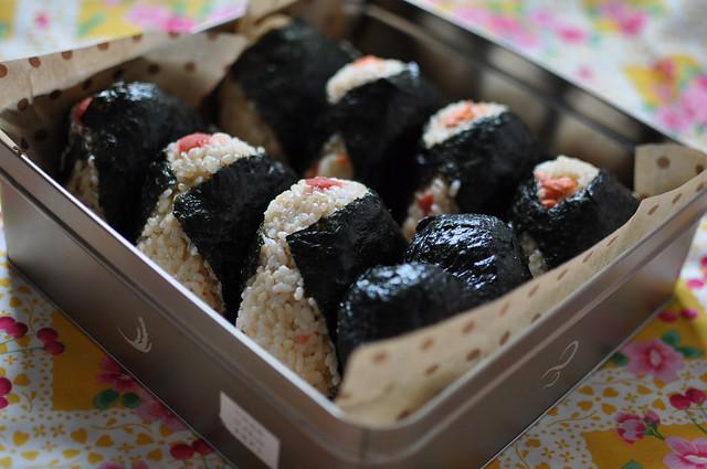 Onigiri lunch