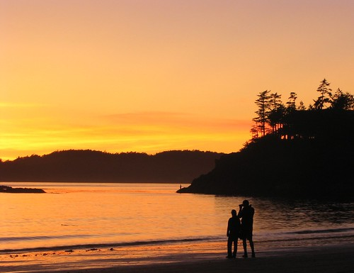Sunset at Mackenzie Beach