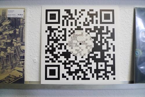 QR Code als Plattencover