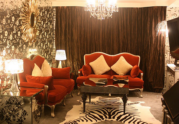"The Royale Suite screams ""opulent diva"""