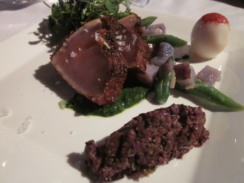 Tastes of April Point (Quadra Island, April Point Resort) dinner with Ingo Grady