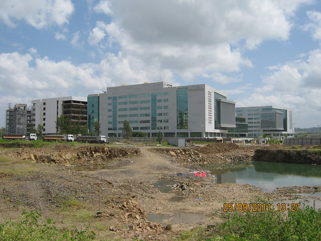 Offices of Accenture at Paranjape Schemes' Blue Ridge SEZ, Hinjewadi Phase 1, Pune
