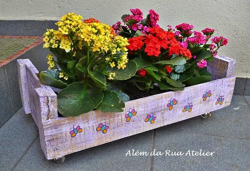 Como reciclar caixotes de frutas