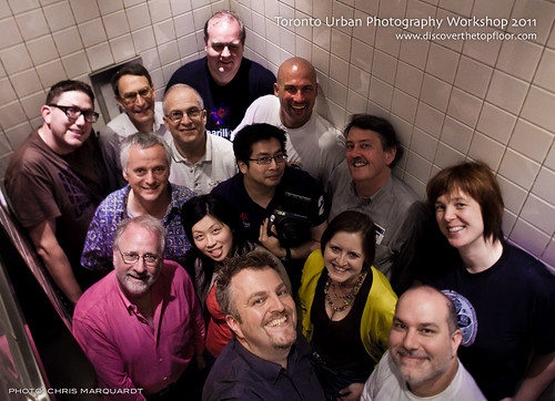Toronto Urban Photography 2011 Group Shot by Chris Marquardt