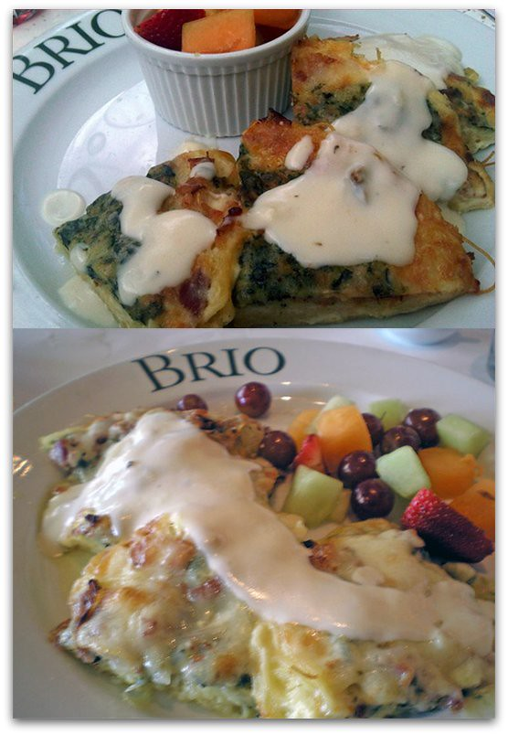 The Frittata Al Forno at Brio Tuscan Grille