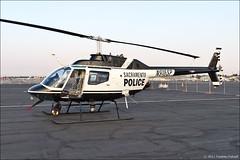Bell OH-58A Kiowa (eugene.photo) Tags: california usa bell police september sacramento airports kiowa matherairport 2011 kmhr mhr oh58 oh58a sacramentopolicedepartment belloh58akiowa californiacapitalairshow2011 7015081 n916sp
