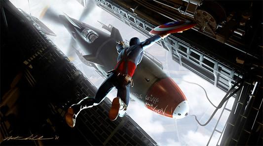 Nathan Schroeder, Captain America