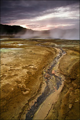 Sulphur creek, Hverarnd, Namaskard, Iceland (sven483) Tags: iceland wow1 wow2 wow3 wow4 namaskard wow5 hverarond sulphurcreek mygearandme mygearandmepremium mygearandmebronze artistoftheyearlevel3 musictomyeyeslevel1 flickrstruereflection1 flickrstruereflection2 flickrstruereflection3
