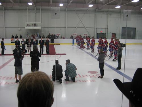 Ouverture Pat Burns Arena 2011 014