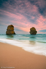 Sunset at Gibsons Steps Beach (-yury-) Tags: ocean sunset sea cliff seascape beach nature landscape australia victoria vic gr