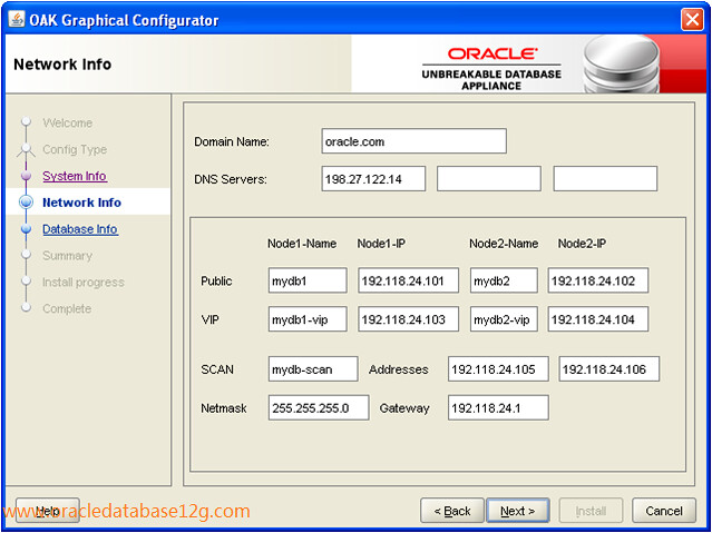 Oracle Appliance Manager Configurator4