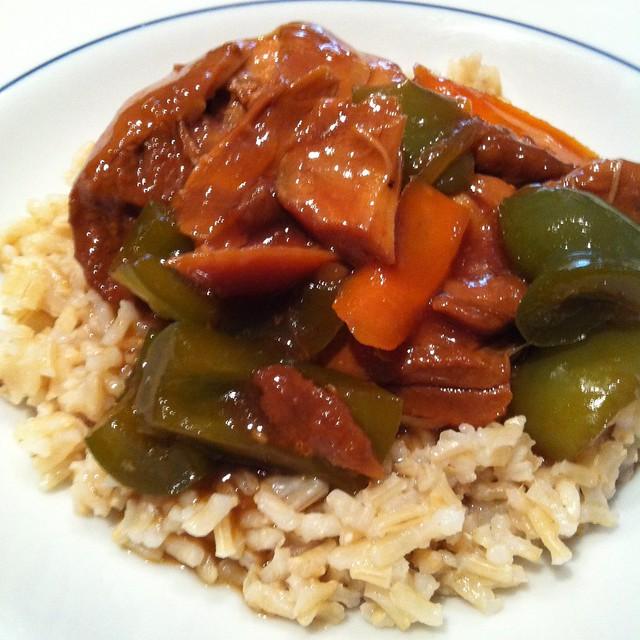 Crockpot Asian Chicken