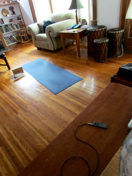 At Home Yoga Studio