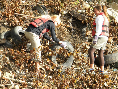 River Relief Clean-up with Sustain Mizzou 9-24-11