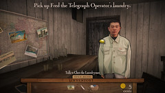 Gold Mountain Quest - Chen the laundry man