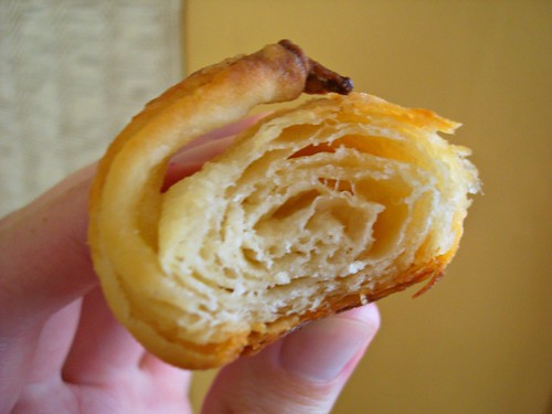 flaky, buttery layers