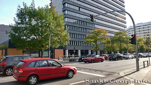 Fußgängerampel Stiftstraße/Steindamm in Hamburg St. Georg