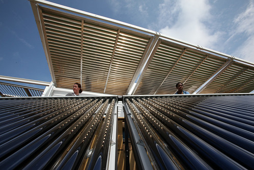 FIU Solar Thermal Collector System