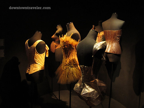Jean Paul Gaultier corsets at Montreal Musee des Beaux Arts
