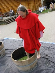 Red and Green (Falashad) Tags: sca barrel grapes grapestomp vinfest vinyar