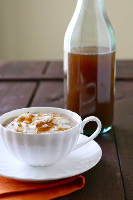 DIY Pumpkin Spice Syrup for Pumpkin Spice Lattes