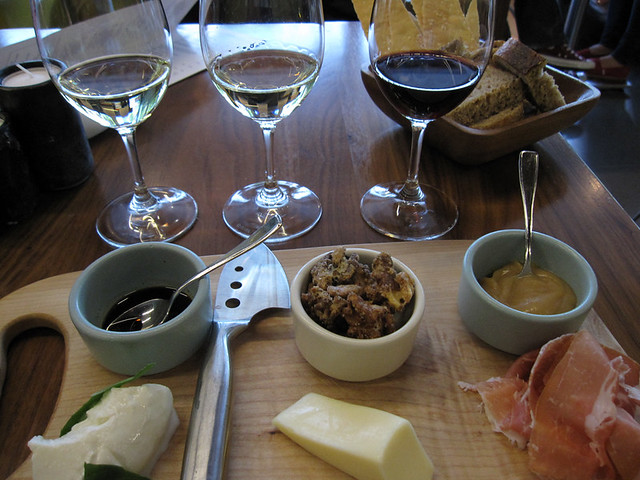 Giovane wine and cheese pairing