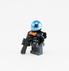 Leader (With Shoulder Armor) (Titolian) Tags: trooper army lego space sniper future leader troops brickarms
